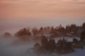 Morgennebel im Vogtland