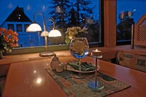 Abendstimmung im Restaurant