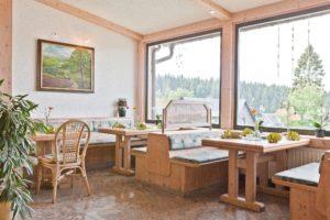 Restaurant Vugelbeerbaum mit Panoramafenster